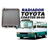 Radiador Para Toyota Coaster 99-2000 - Instalación Incluida