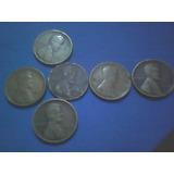 Cents 1910,1917,1920,1926,1929 C/u