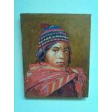 Pintura De Un Niño Peruano