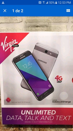 Samsung J3 Emerge 16gb 8mp