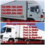 Servicio De Mudanzas Y Cargas 809-766-3460