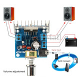 Mini Amplificador 12 Voltios 35 Whatts