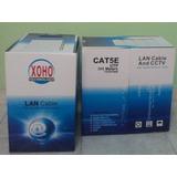 Cable Utp Cat5 Rollo 1000ft Para Cctv