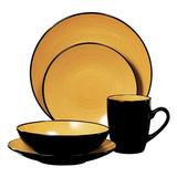 Servicio De Mesa De Vajilla Thomson Pottery Kata 16 Para 4 P