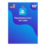 Playstation Network Card Psn $10 Usd Usa Digital Codigo