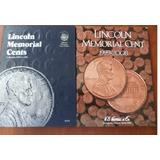 2 Albunes Con Monedas Centavos  Usa 1959 Al 2016