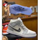 Tenis Nike Jordan Retro 1 One Christian Dior 2020