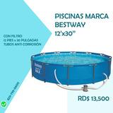 Piscina De Tubos / Marca Bestway