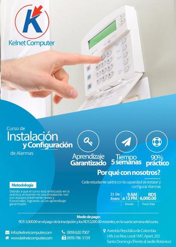 Instalación Y Configuración De Alarmas