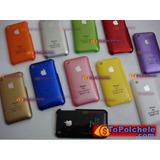 Set De 3 Covers Acrílico Para Iphone 3g*ahora Mas Atractivo*