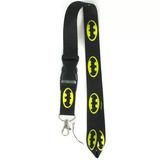 Porta Carnet Holder Lanyard De Batman