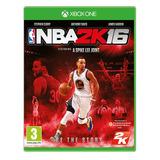 Nba 2k16 Juego Para Xbox One