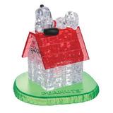3d Crystal Puzzle Snoopy Y Casa