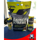 Proteina Gainer Xtreme 12lbs Glutamina Bcaa $4200
