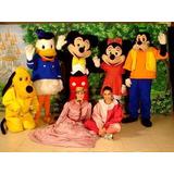 Personajes De Disney, Payasos, Maquinas De Palomitas Y Mas