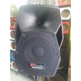 Cajon Amplificado 8 Plg Bluetooth