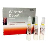 Winstrol Depot Desma Stanozolol 3 Amp Peloteros Beisbol