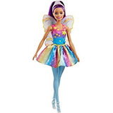 Barbie Dreamtopia Rainbow Cove - Muñeca De Hadas, Color Mora