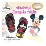 Sandalias De Mickey Mouse De Adulto. 100% Original