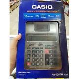 Casio Hr-100tm Calculadora Plus