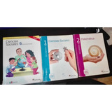 Libros Santillana  De 6, 1 Y 2 De Secundaria Medio Uso