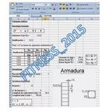 Cómputos Métricos Columnas Plantilla Hoja Excel