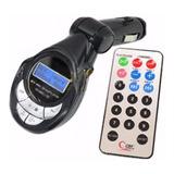 Reproductor Mp3 Mp4, Transmisor Fm Para Vehiculos Con Contro
