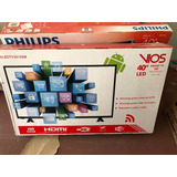 Televisor Vios 40 , Led, Smart Tv,1366x768, 16:9, Hdmi + Usb