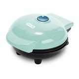 Dash Mini 4 Pulgadas Waffle Maker Aqua Azul