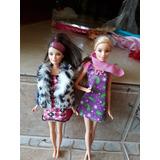 Muñecas Barbie , Las Dos Por 1000