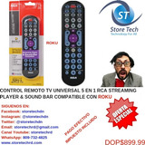 Control Remoto Tv Universal 5 En 1 Rca Streaming Player & So