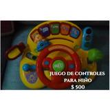 Juego Tipo Controles Para Niño