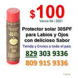 Protector Solar Para Labios Y Ojos De Delicioso Sabor Marca
