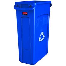 Rubbermaid Comercial Slim Jim  Cubo De Reciclaje De Plástico