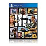 Grand Theft Auto Five Para Ps4