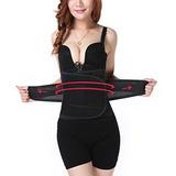 Mujerhombres Cintura Cincher Entrenador Entrenamiento Faja C