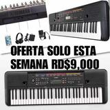 Teclado Yamaha 5 Octavas Piano De 61 Teclas