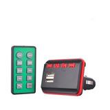 Adaptador Para Radio Via Fm Con Función Bluetooth, Usb, Micr