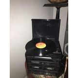 Radio Toca Disco De Pasta Antiguo