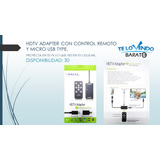 Hdtv Adapter Con Control Remoto Y Micro Usb Type.