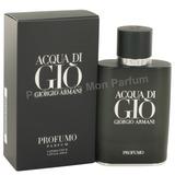 ** Perfume Acqua Di Gio Profumo By Giorgio Armani, Extras **