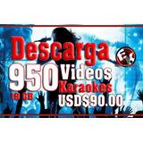 950 Videos Karaokes 30 Paquetes 19 Gb