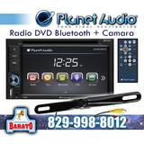 Radio Dvd De Pantalla Con Camara De Reversa Planet Audio