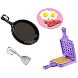 Barbie Baking Pack De Accesorios Moda Muñeca Playsets