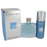 *** Perfume Chrome By Azzaro. Estuche De 2 Piezas ***
