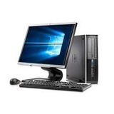Combo Cpu Hp 8100 I5 8gb/160gb Monitor 19 Moderno
