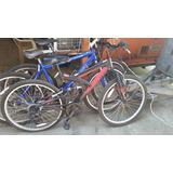Bicicletas En Diferentes Tamanos.