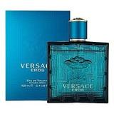 Perfume Versace Eros Edt 100 Ml./3.4 Oz. Para Hombre