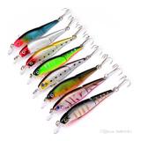 Señuelo Para Pesca Luminosos Coloridos Cebo Anzuelo
