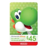Nintendo Switch 3ds Eshop 45 Usd Codigo Digital Para Juegos